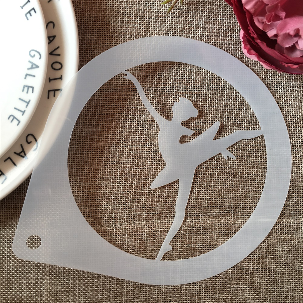 1Pcs 15cm Ballet Dance Girl C DIY Craft Layering Stencils Painting Scrapbooking Stamping Embossing Album Paper Card Template