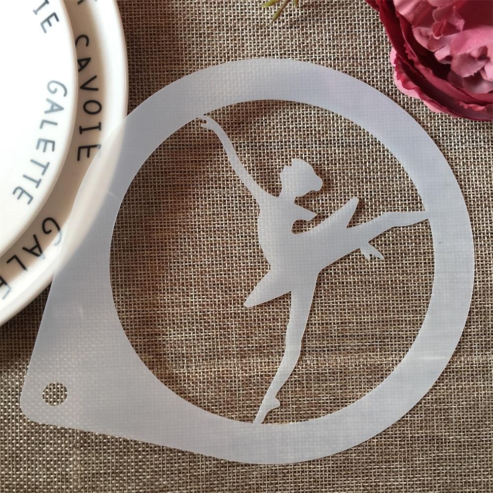 1Pcs 15cm Ballet Dance Girl C DIY Craft Layering Stencils Painting Scrapbooking Stamping Embossing Album Paper Card Template