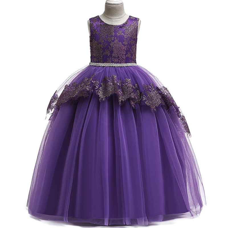 Baby Girls Festa Vestido,Girls High Quality Princess Birthday Party Dresses,Children Summer Cotton Sleeveless Dresses