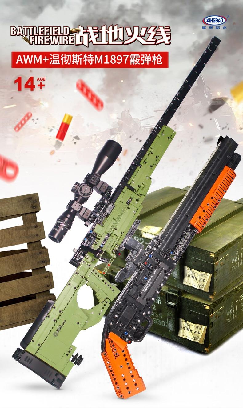 modelo blocos de construção técnica armas tijolos