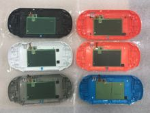 12 colors Wifi Version Touch Screen Panel for PS Vita 2000 PSV2000 Psvita 2000 Back Faceplate Touchpad Back Cover Case Housing