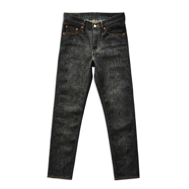 Saus Asal Ltd Edition Jepang Okayama Kain Zimbabwe Katun Berwarna Mens Jeans Baku Merek Jeans Selvedge Jeans Biru Jeans