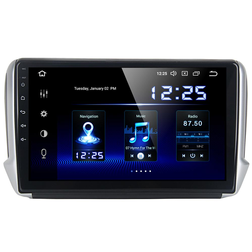 Dasaita 10 2 Ips 1280x720 Android 10 Auto Radio For Peugeot 2008 208 2012 2013 2014 2015 2016 Carplay Wifi Gps Dsp Multimedia Car Multimedia Player Aliexpress