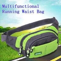Bolso de la cintura del deporte multifuncional Unisex, riñonera para correr, para viajes al aire libre, ciclismo, escalada, con correa ajustable