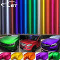car styling Matte Chrome Vinyl Car Wraps Sticker Color Changing Car Sticker With Air Bubble Auto Accessories