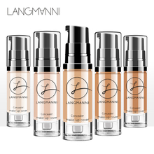 New 6 Colors Face Concealer Cream Beauty Full Cover Contouring Makeup Waterproof Hide Blemish Foundation Base Primer Cosmetic cosmetic beauty makeup tool hide blemish pen anti cernes creamy concealer stick