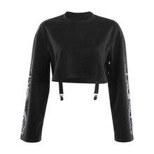 New Halloween Punk Women's Pullover Sweatshirt Casual Fashion Gothic Dragon Print Long Sleeve Crop V