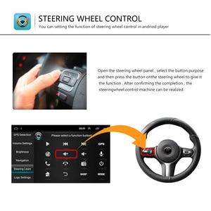 Image 4 - Podofo Android Radio Auto 2 Din Auto Multimedia Player GPS Stereo Für Volkswagen Skoda Sitz Octavia golf 5 touran passat b6 polo