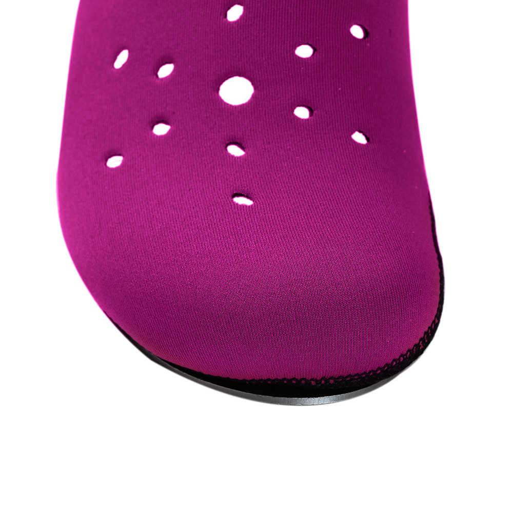 Su sporları Anti-skid su ayakkabısı terlik çabuk kuru Barefoot dalış çorapları plaj dalış yüzme sörf çorap için