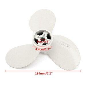 Image 5 - Maytech MTSP0504 7 1/4x5 A אלומיניום סגסוגת מדחף ימאהה הימית מנוע מדחף עבור Efoil גלשן סירה