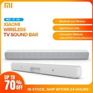 Беспроводная звуковая панель Xiaomi, Bluetooth динамик, саундбар, смарт-ТВ, аудио, домашний кинотеатр, AUX SPDIF, оптическая Поддержка Sony, Samsung, LG TV