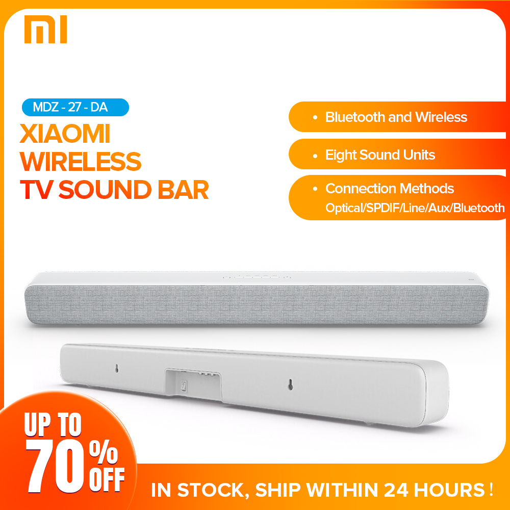 Xiaomi Wireless Sound Bar Bluetooth Speaker Soundbar Smart TV Audio Home Theater AUX SPDIF Optical Support Sony Samsung LG TV