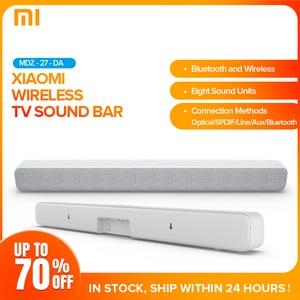 Xiaomi bezprzewodowy pasek dźwiękowy głośnik Bluetooth Soundbar Smart TV Audio kino domowe AUX SPDIF obsługa optyczna Sony Samsung LG TV
