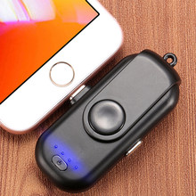 Magnetic Mobile Power 1000 mAh Small Magnet Charger for iPhone Mobile Power 18650 for iPhone Millet / LG(China)
