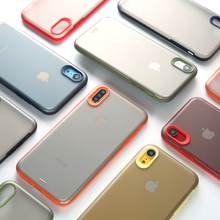 Anti-knock Armor case For iphone 11 11Pro Max XS Max X XR case For iphone 7 8 6 6S Plus Matte hard case protective shell capa