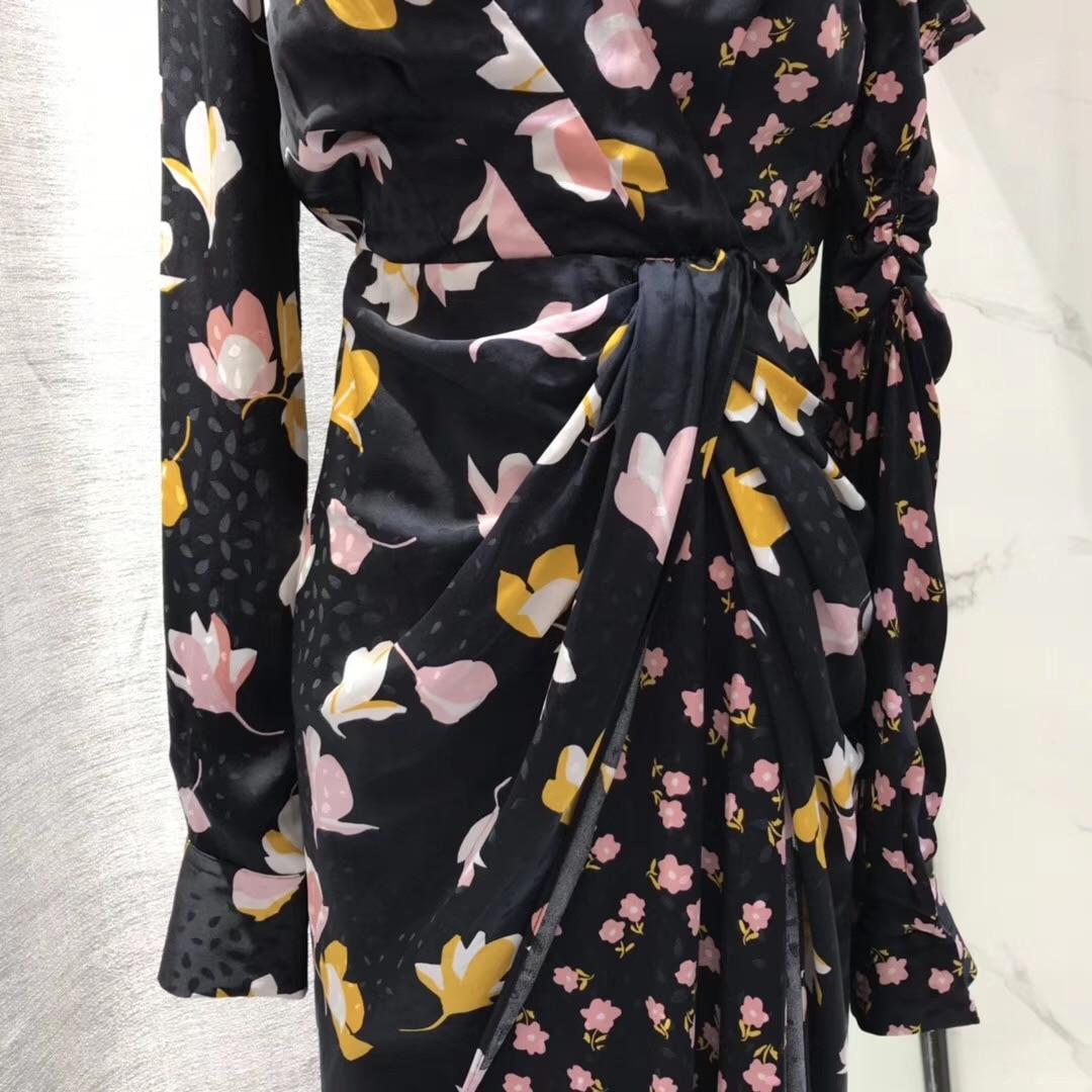 Asymmetrical Print discount Dress