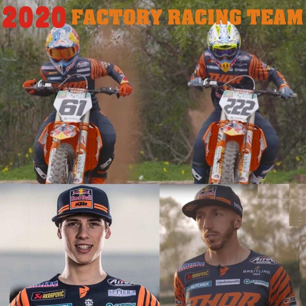 NEW 2020 Factory Racing Team Motocross Jersey And Pants Top ATV BMX Moto Gear Set ATV Jersey Set Motorcycle Clothing MX Combo