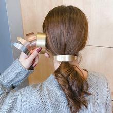 [xwen] 2021 Новая Металлическая изогнутая заколка для волос