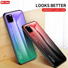 For iPhone 11 2019 Case 5.8 inch Gradient Tempered Glass Phone Cover For iPhone 11 Pro Max 11Pro 6 6s 7 8 Plus XS XR Max Coque colorful gradient case for iphone 11 pro max x xs max xr 8 hd glass capa fundas for iphone 11 11pro 8 7 6 6s plus back cover