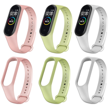 Wristband Band Strap For Xiaomi Mi Band 4 Smart Bracelet Miband 3 Replacement Silicone Wrist Strap sprort band For Xiaomi Mi 3