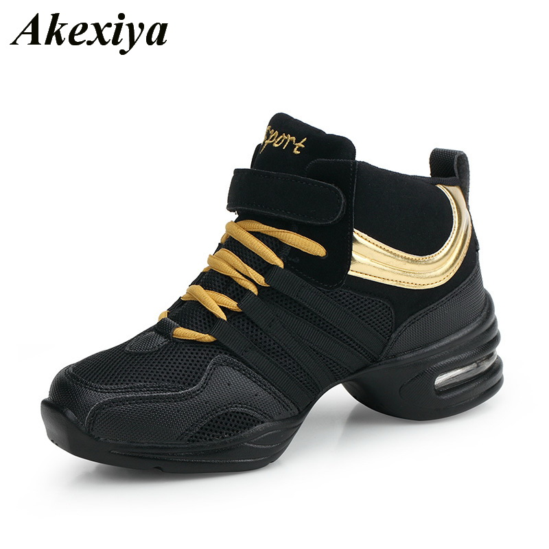 2019New Ladies Dance Sneakers Women High Quality Modern Dancing Shoes For Women Adult Jazz Square Dance Shoes Female Sport Shoes