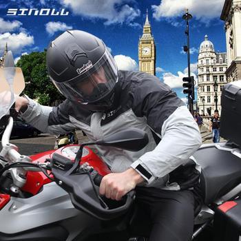 SINOLL wodoodporny motocykl RainSuit Moto płaszcz przeciwdeszczowy + deszcz spodnie przewietrzyć Poncho kurtka motocyklowe deszcz konna motocykl płaszcz przeciwdeszczowy tanie i dobre opinie Nylon Spinning+PU Raincoat 98000PA 0 6kg Fluorescent green Black S M L XXL SN-106