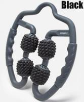 Black - U-shaped trigger point massage roller