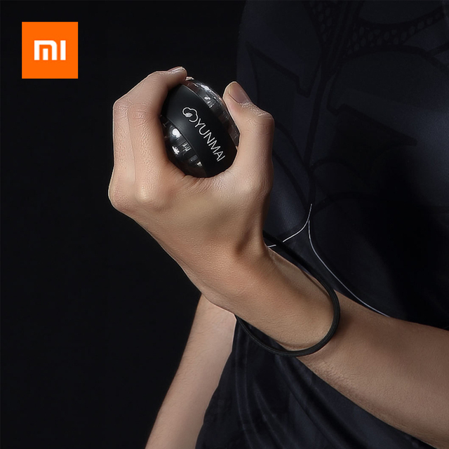 Xiaomi Mijia YunMai Powerball Carpal Training Apparatus Power Wrist Ball Trainer LED Gyro Ball Essential Spinner Antistress Toy
