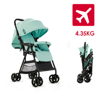 VIKI 4.35Kg Plane Lightweight Baby Stroller Portable Travelling Pram Children Pushchair Easy Folding Baby Carriage Free Shipping