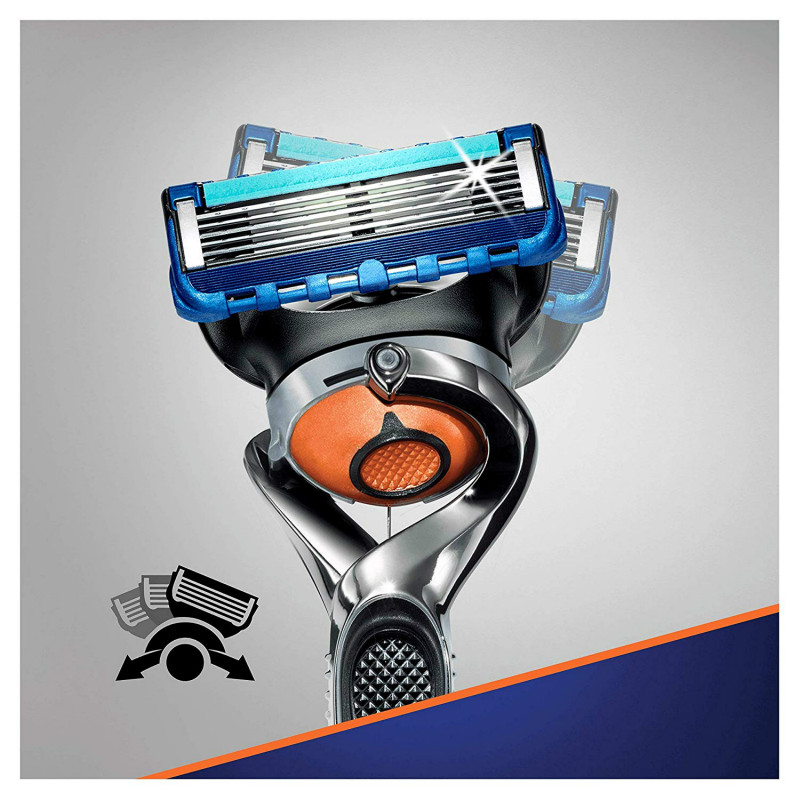 Removable Razor Blades for Men Gillette Fusion ProGlide Blade for Shaving 4 Replaceable Cassettes Shaving Fusion Cartridge