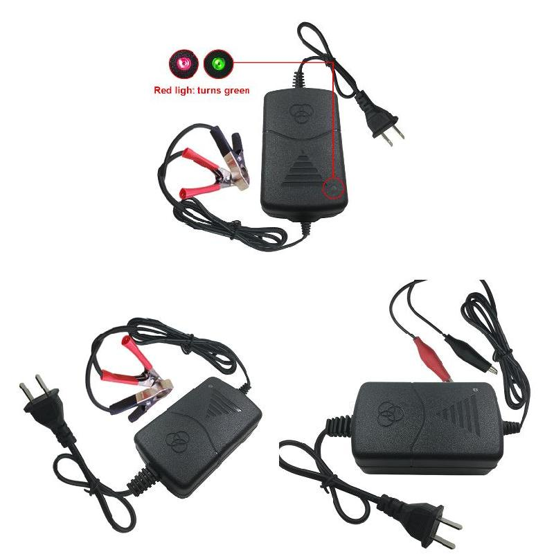 12V <font><b>Battery</b></font> <font><b>Charger</b></font> Maintainer Amp Volt <font><b>Trickle</b></font> for <font><b>Car</b></font> Truck Motorcycle B99 image