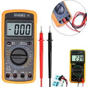 DIDIHOU 1pc DT9205A Digital Multimeter Tester LCD Display Volt Meter Electrician High Precision Portable Voltage Tester(China)