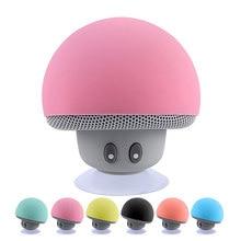 Mini Bluetooth Speaker Waterproof Mushroom Wireless Music HiFi Stereo Subwoofer Hands Free For Phone Android IOS