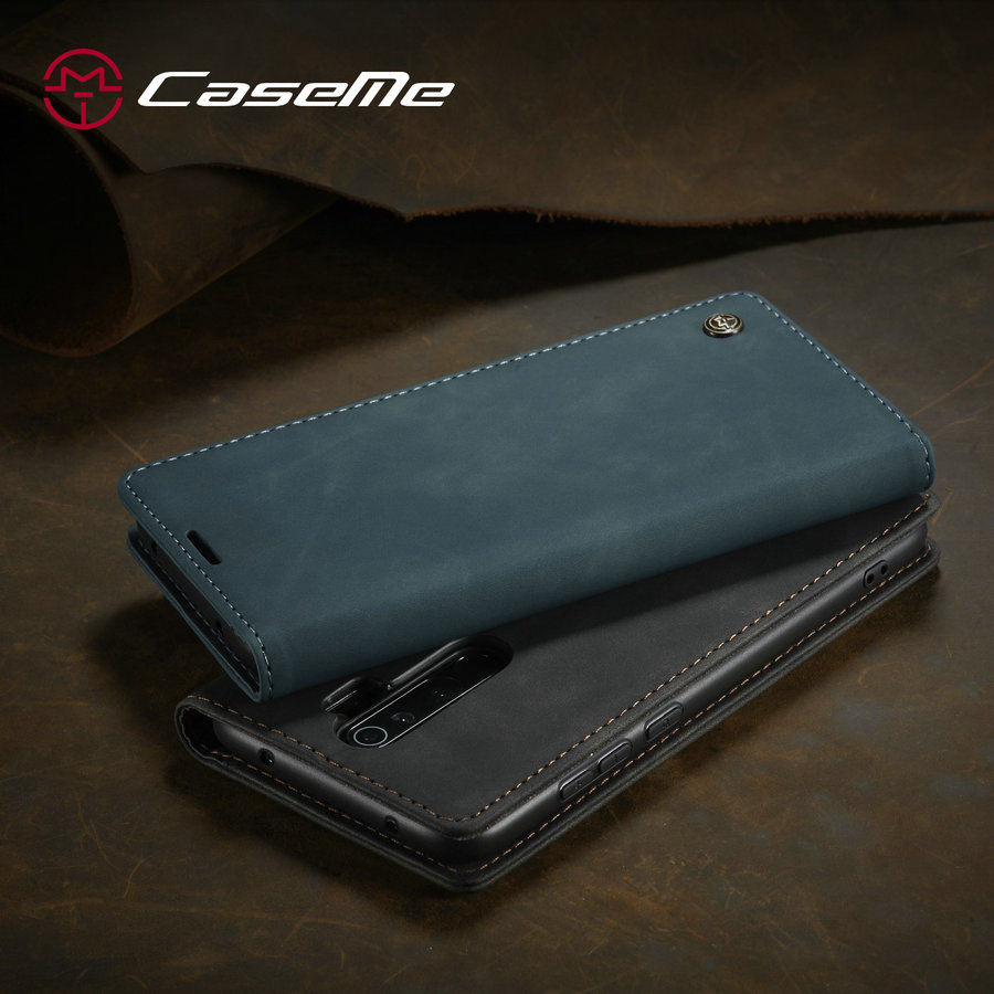 For Redmi Note 8 Pro Retro Magnetic Wallet Leather Case For Xiaomi Mi 9 9T K20 K20Pro Note 8 Luxury Flip Protective Cover image