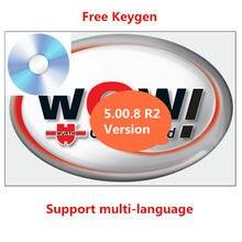 Venda quente para wow wurth v 5.00.8 r2 multi-idioma com keygen livre para vd tcs pro delphis ds150e multidiag carros