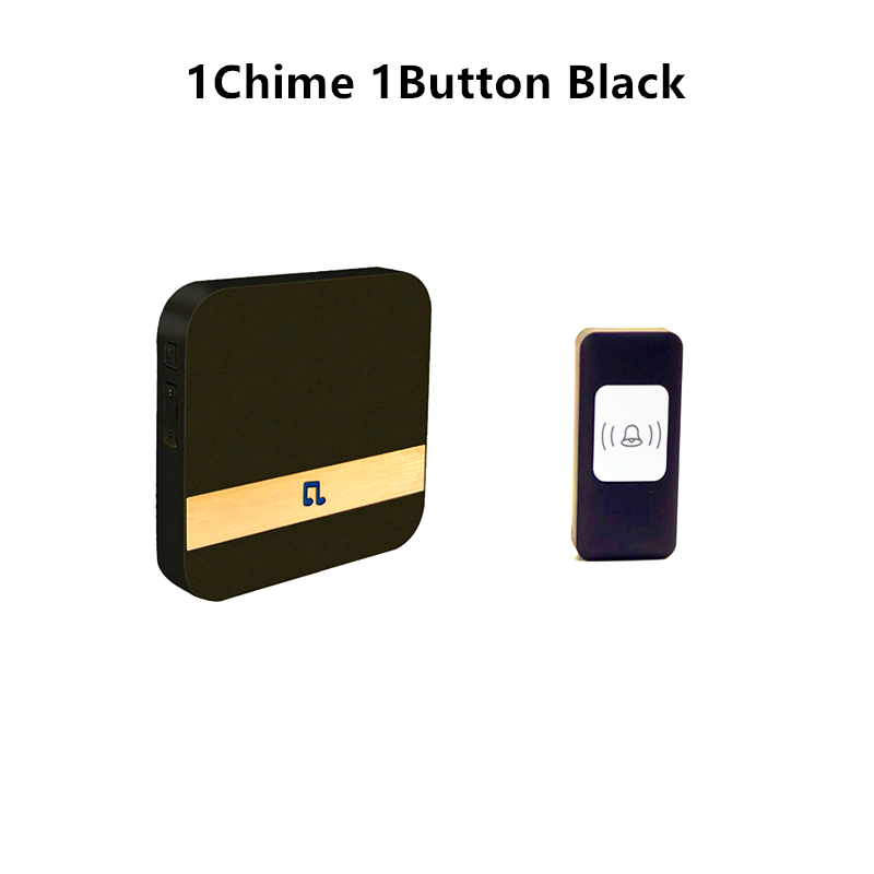 New P5 Ding Dong AC 90-250V Wireless WiFi Remote Home Music Electronic Smart Doorbell UK EU AU US Plug With 53 Ringtones