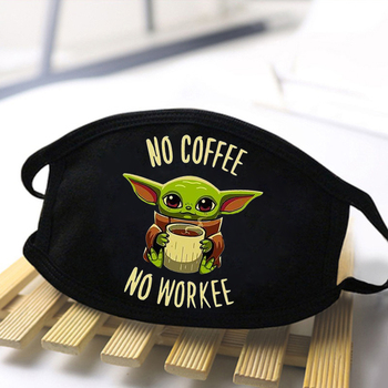 Unisex Baby Yoda Dustproof Adult Masks 2020 Anti Dust Fashion Mouth Face Mask Reusable Breathable Masks kpop Protective masque