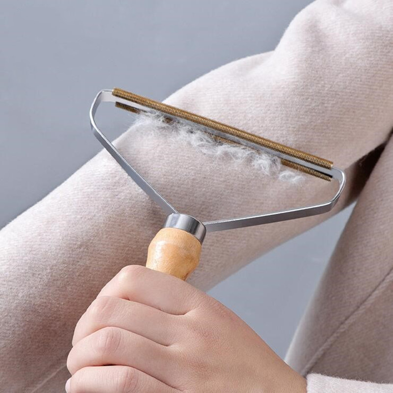 Portable Lint Remover Clothes Fuzz Fabric Shaver Brush Tool Power Free Fluff Removing Roller for Sweater Woven Coat