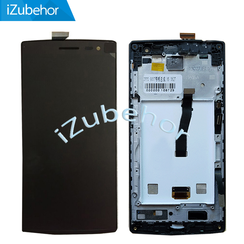 100% Warranty LCD For OPPO Find 7 X9007 7A X9006 LCD Display Touch Screen Digitizer + Frame Assembly Replacement