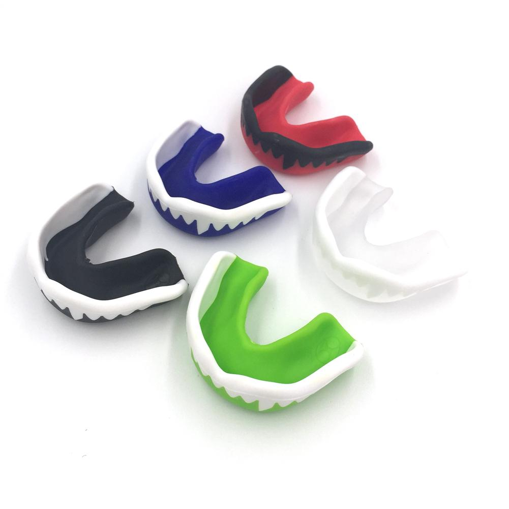 Odorless and Non-Toxic Mouth Guard and Boxing Teeth Braces for Complete Mouth Protection