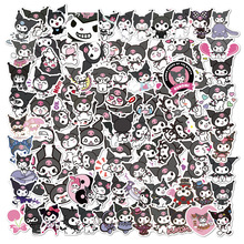 100PCS Cute Kuromi Melody Cartoon Stickers Pack for Kids Gift DIY Skateboard Luggage Refrigerator Notebook Laptop Decal Sticker