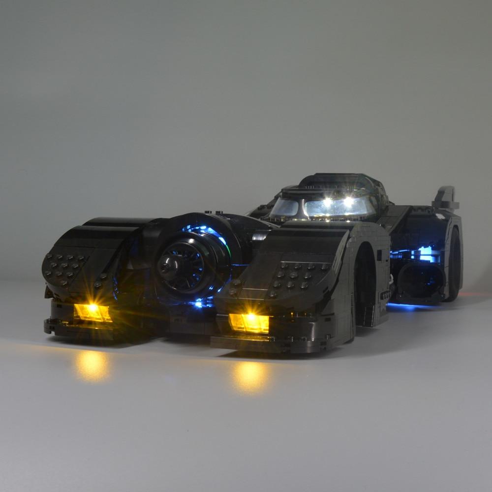 Kyglaring LED Light Beleuchtung Für LEGO 76139 1989 Batmobile DC Batman Lighting