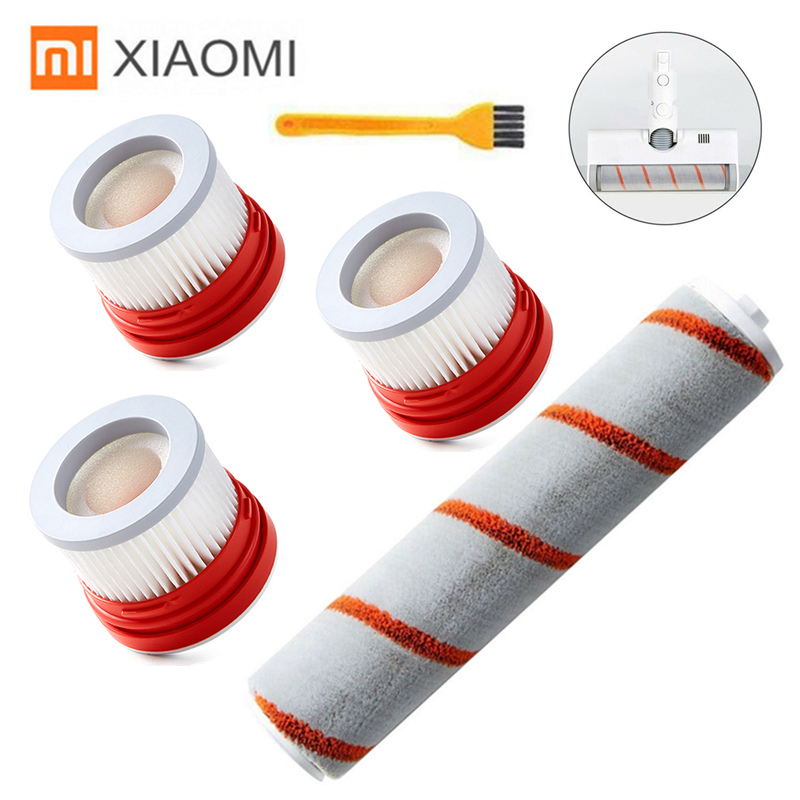 Replacement HEPA Filter Roller Brush Kit For XIAOMI Dreame V9 V9B V10 Handheld Cordless Vacuum Cleaner Spare Parts Accessories