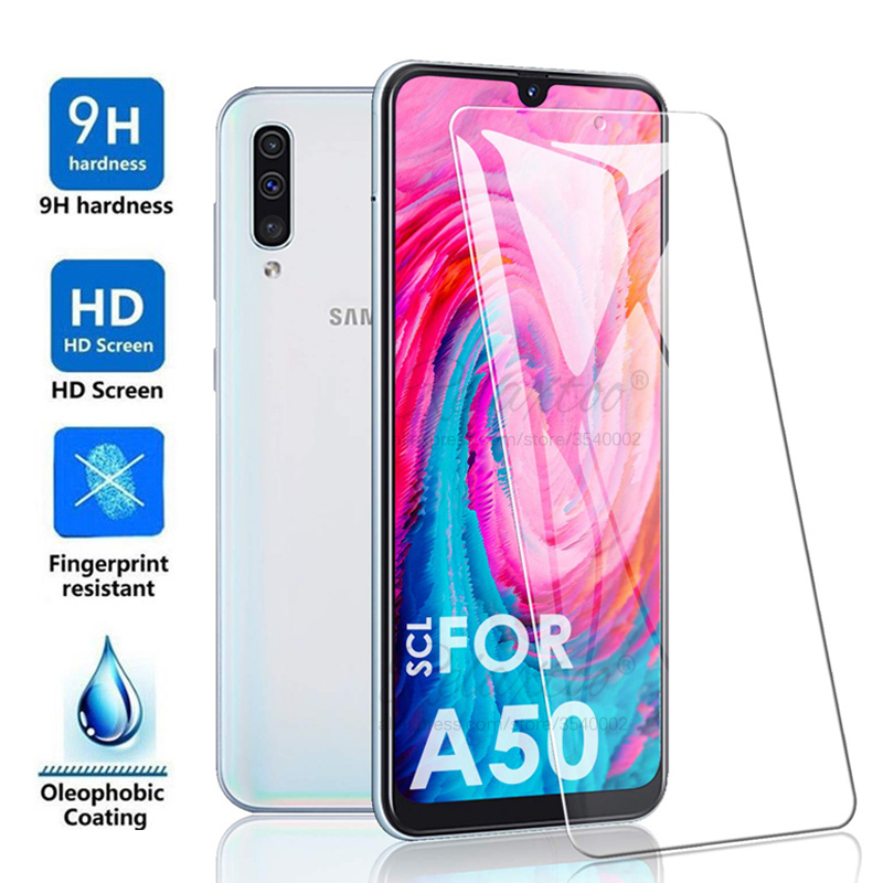 Tempered Glass For Samsung Galaxy A10S A30S A50S A10 A30 A50 Protective Glass On For Galax A 10 30 50 S A107F A307F A507F Film