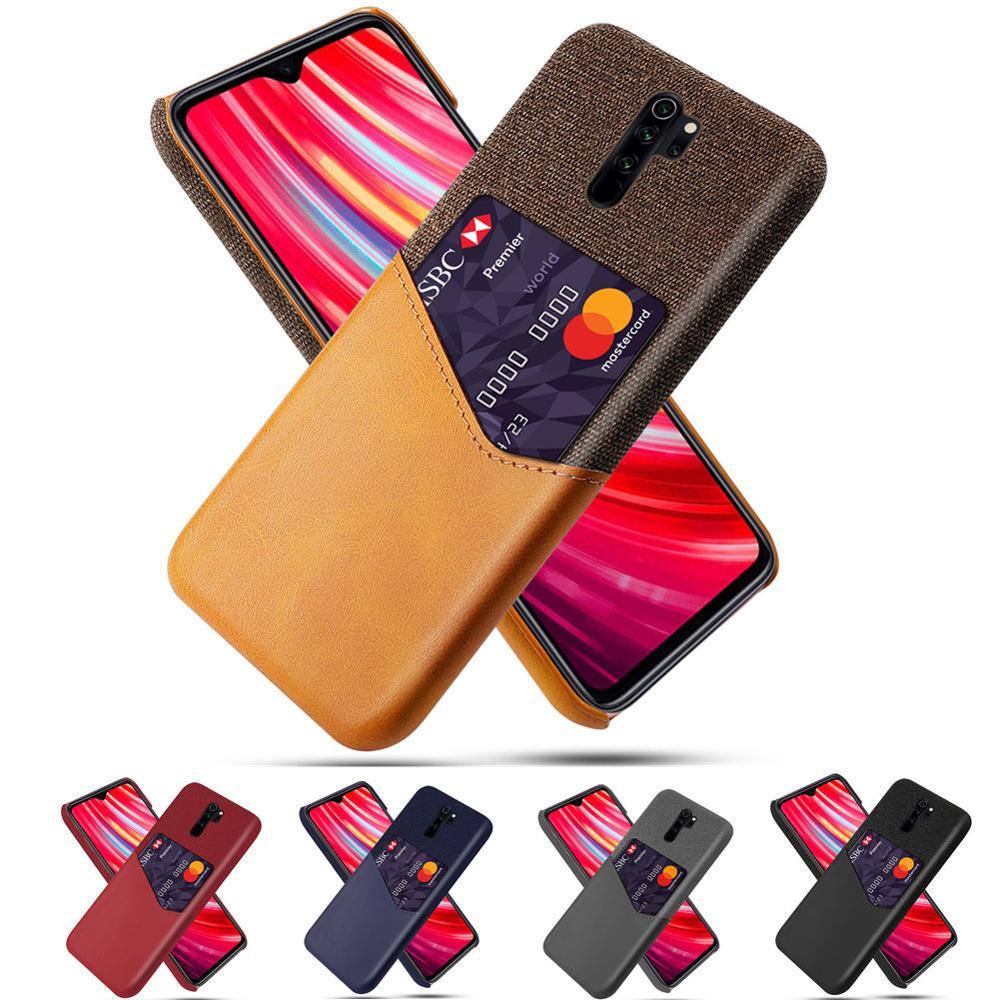 Business Case dla Xiaomi Redmi Note 8 8Pro 6 7 Pro 5plus 5A 4X 4A S2 7A iść pokrywa gniazda karty dla Xiaomi 9 8 Lite CC9 6X 5X A1 A2