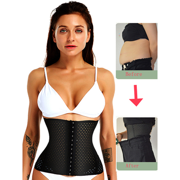 Waist trainer tummy Shaper Girdle pulling corset slimming underwear Belt shapewear body shaper modeling strap binder Corset faja