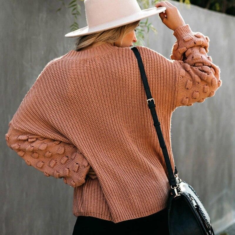2021 Winter O-neck Women's Sweater 3