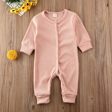 Kids Baby Girl Boy Romper Overall Outfit 0-24M