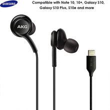 Original para samsung 3.5mm com fio fones de ouvido ig955 in-ear fone de ouvido com microfone controle de volume fone de ouvido para akg galaxy s10 s8