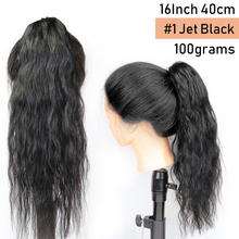 Clip-on Ponytail Human Hair Extensions Clip 100% Human Hair Weavy Machine Remy Remy
